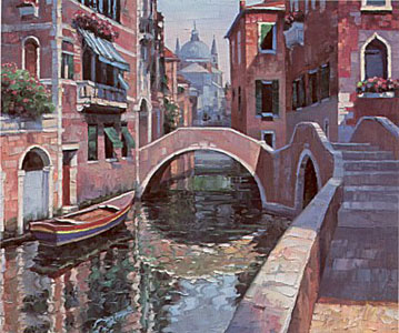 Arched Bridge by Howard Behrens