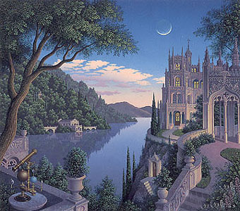 Cheshire Moon by Jim Buckels