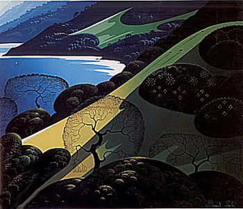 Above the Sea by Eyvind Earle