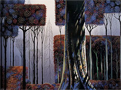 Ancient Forest by Eyvind Earle