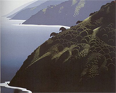 Big Sur Calm by Eyvind Earle