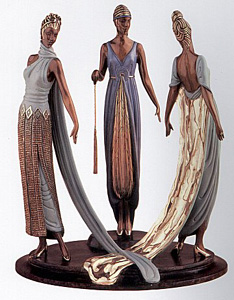 The Three Graces (Bronze) by Erte