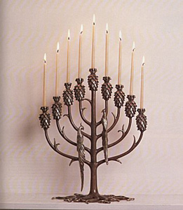 Tree of Life (Candlestick) by Erte