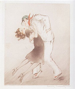 Apache Dance by Louis Icart
