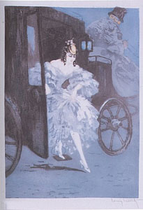 Arrival by Louis Icart