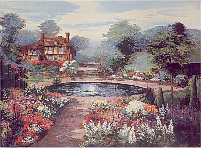 An English Water Garden by Mark King