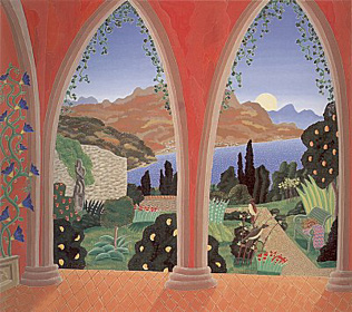 Ravello Garden by Thomas McKnight