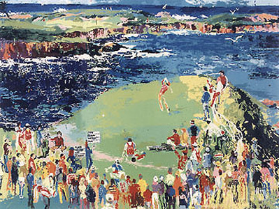 16th at Cypress by LeRoy Neiman