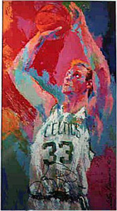 33 For 3, Larry Bird by LeRoy Neiman