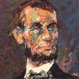 Abraham Lincoln by LeRoy Neiman