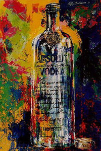 Absolute Vodka by LeRoy Neiman