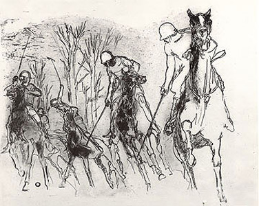 Malletmen by LeRoy Neiman