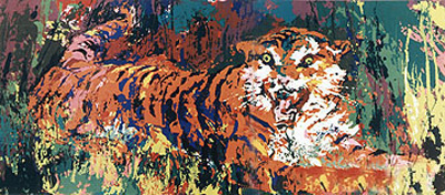 Young Tiger by LeRoy Neiman