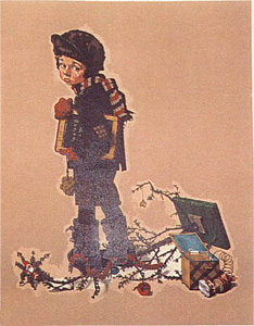 After Christmas by Norman Rockwell