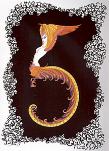 The Numerals Suite by Erte