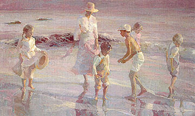 Beachcombing by Don Hatfield
